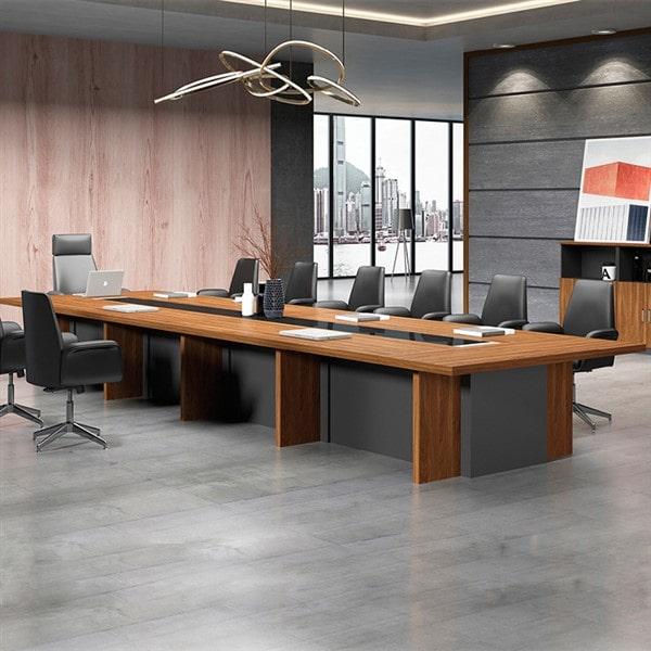 Thiết kế bàn ghế văn phòng cho công ty truyền thông